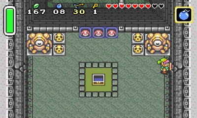 Screen ze hry The Legend of Zelda: A Link to the Past