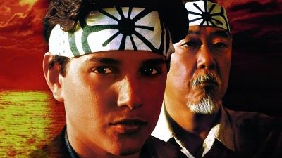 Artwork ke hře The Karate Kid
