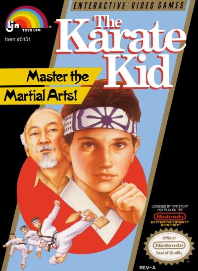 Obal hry The Karate Kid