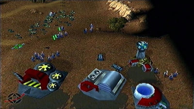 Screen ze hry Command & Conquer