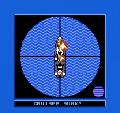 Screen ze hry Battleship