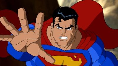 Artwork ke hře The Death and Return of Superman