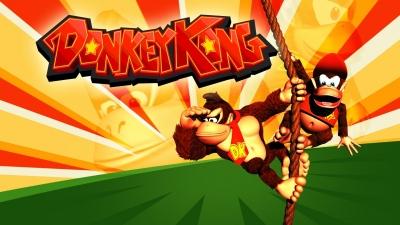 Artwork ke hře Donkey Kong Classics