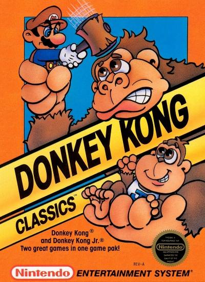 Obal hry Donkey Kong Classics