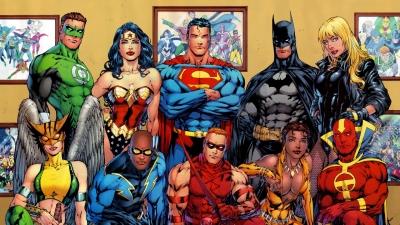 Artwork ke hře Justice League Task Force