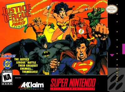 Obal hry Justice League Task Force
