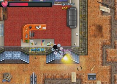 Screen ze hry Stick Arena