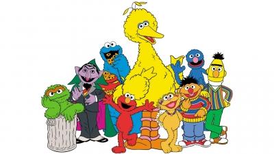 Artwork ke hře Sesame Street 1-2-3