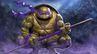Artwork ke hře Teenage Mutant Ninja Turtles: Tournament Fighters