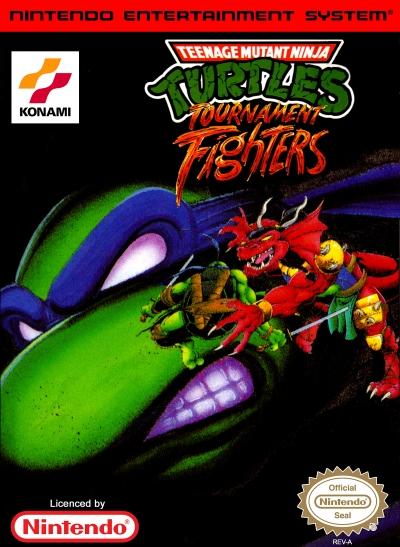 Obal hry Teenage Mutant Ninja Turtles: Tournament Fighters