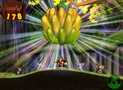 Screen ze hry Donkey Kong Jungle Beat