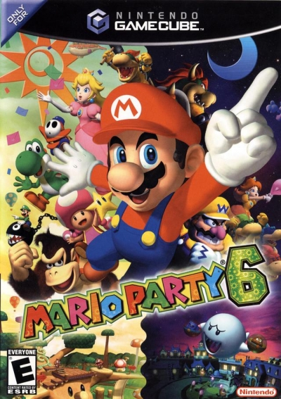 Obal hry Mario Party 6