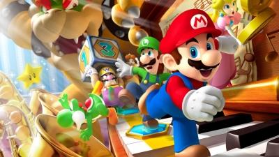 Artwork ke hře Mario Party 7