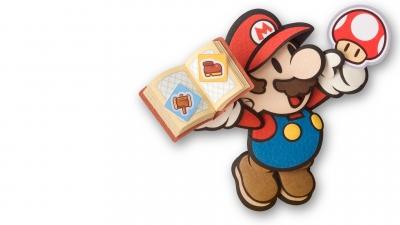 Artwork ke hře Paper Mario: The Thousand-Year Door
