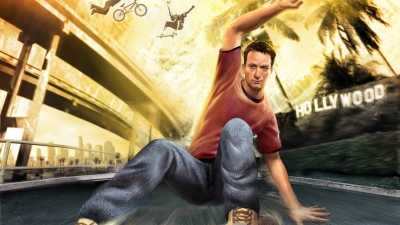 Artwork ke hře Tony Hawk´s American Wasteland