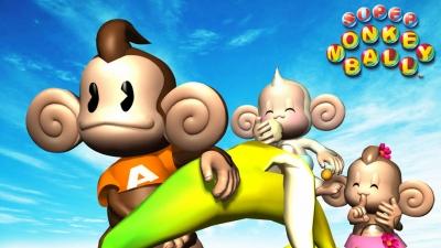Artwork ke hře Super Monkey Ball Jr.