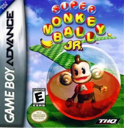 Obal hry Super Monkey Ball Jr.