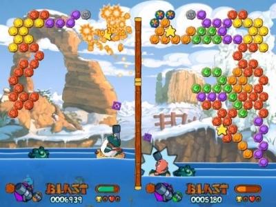 Screen ze hry Worms Blast
