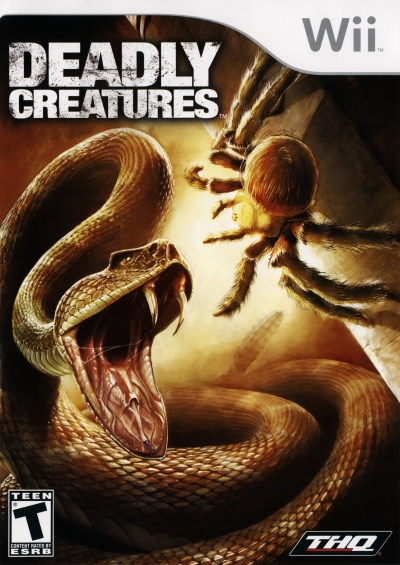 Obal hry Deadly Creatures
