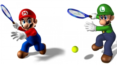 Artwork ke hře Mario Power Tennis