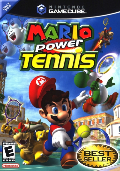 Obal hry Mario Power Tennis