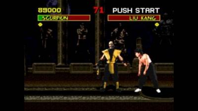 Screen ze hry Mortal Kombat