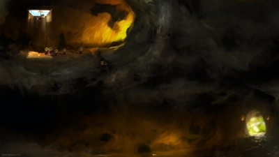 Artwork ke hře Lemmings