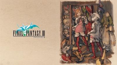 Artwork ke hře Final Fantasy III