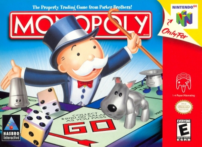 Obal hry Monopoly