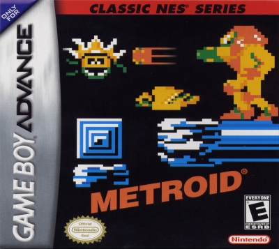 Obal hry Classic NES Series: Metroid