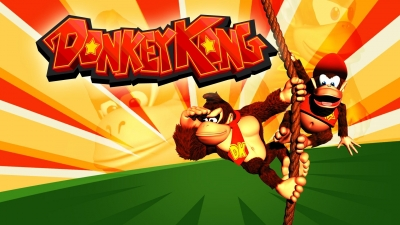 Artwork ke hře Donkey Kong