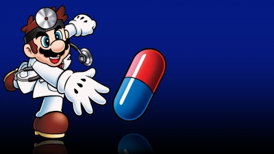Artwork ke hře Dr. Mario
