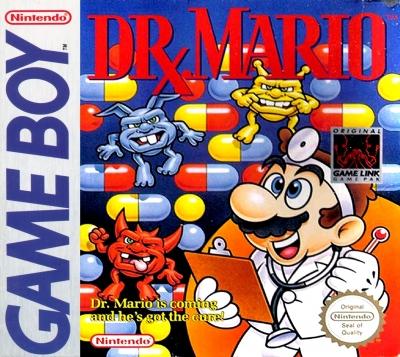 Obal hry Dr. Mario
