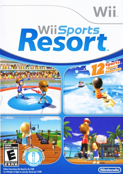 Obal hry Wii Sports Resort