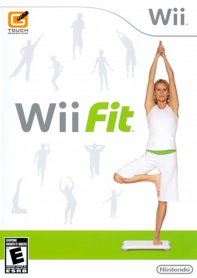 Obal hry Wii Fit