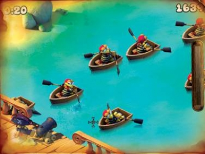 Screen ze hry Crazy Chicken: Pirates