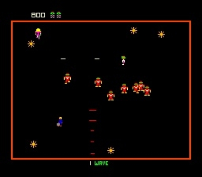 Screen ze hry Williams Arcade´s Greatest Hits