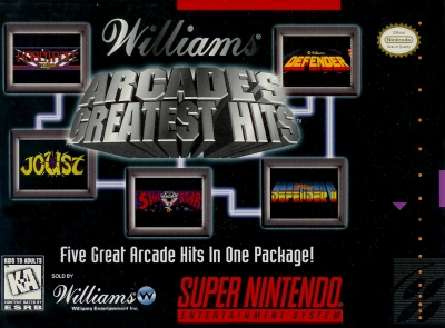 Obal hry Williams Arcade´s Greatest Hits