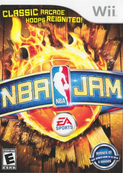 Obal hry NBA Jam