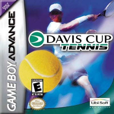 Artwork ke hře Davis Cup Tennis