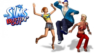 Artwork ke hře The Sims Bustin´ Out