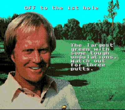 Screen ze hry Jack Nicklaus Golf