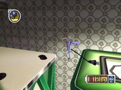 Screen ze hry Chibi-Robo!