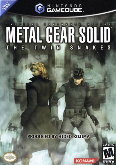 Obal hry Metal Gear Solid: The Twin Snakes