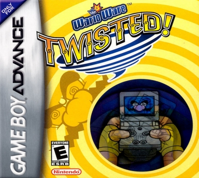 Obal hry WarioWare: Twisted!