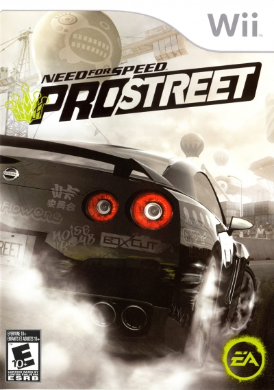 Obal hry Need for Speed ProStreet