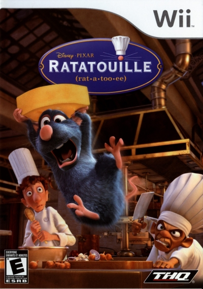 Obal hry Ratatouille