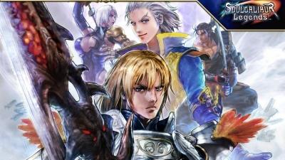 Artwork ke hře Soul Calibur Legends