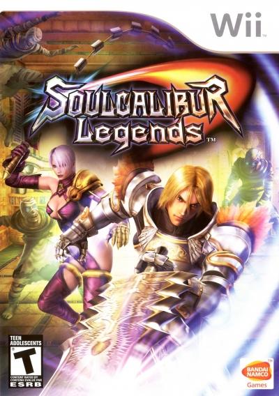 Obal hry Soul Calibur Legends