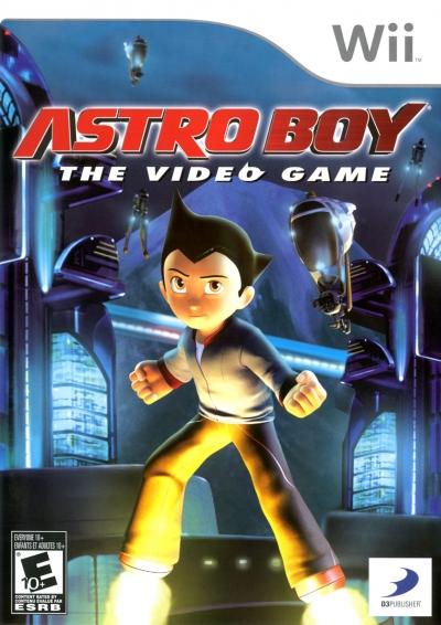 Obal hry Astro Boy